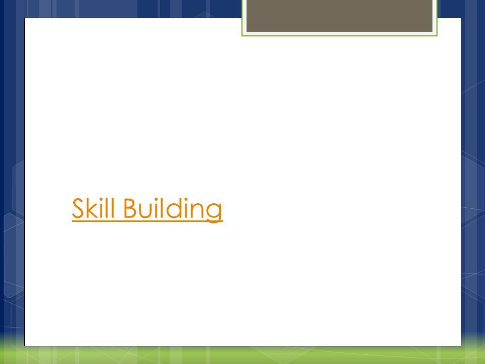 Replacing Coping Skills