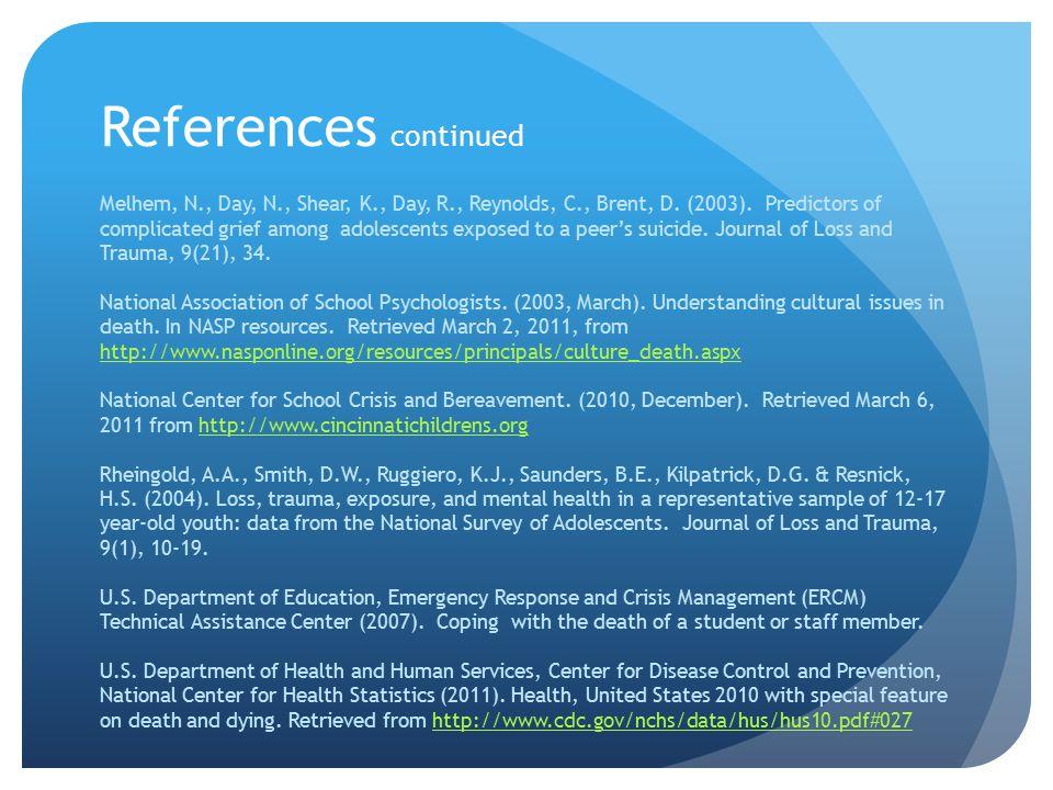 References continued Facchin, F., Molgora, S., Margola, D., & Revenson, T.