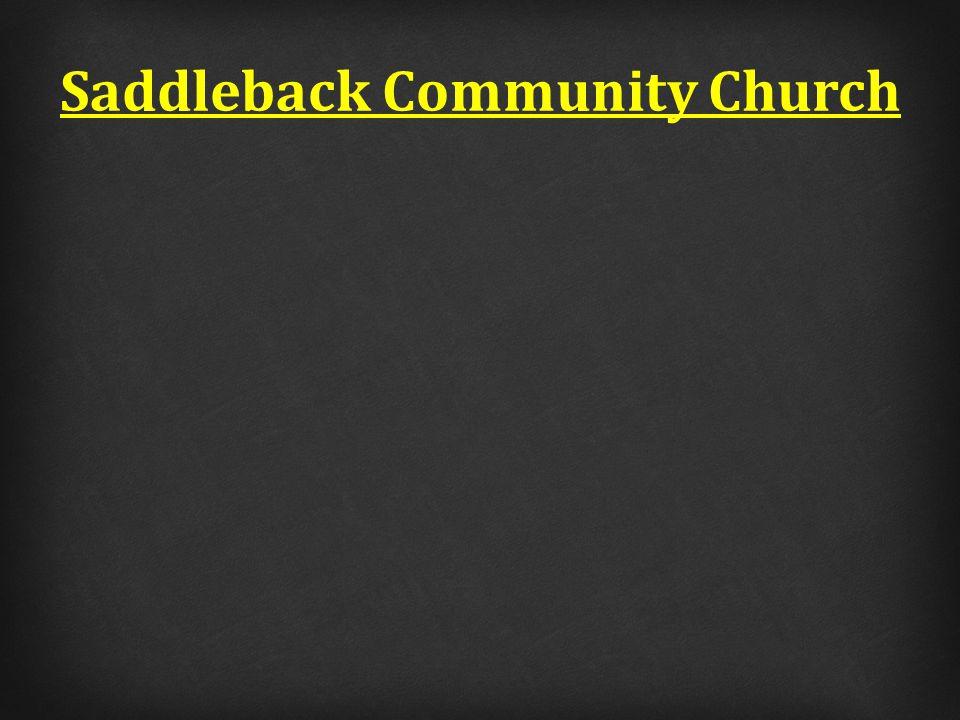 Saddleback Community Church