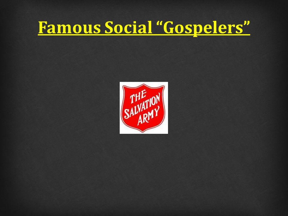 Famous Social Gospelers
