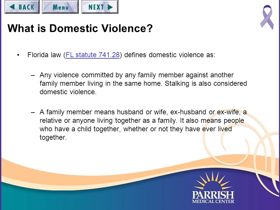 Myths of Domestic Violence Domestic violence only happens in poor families or minorities.