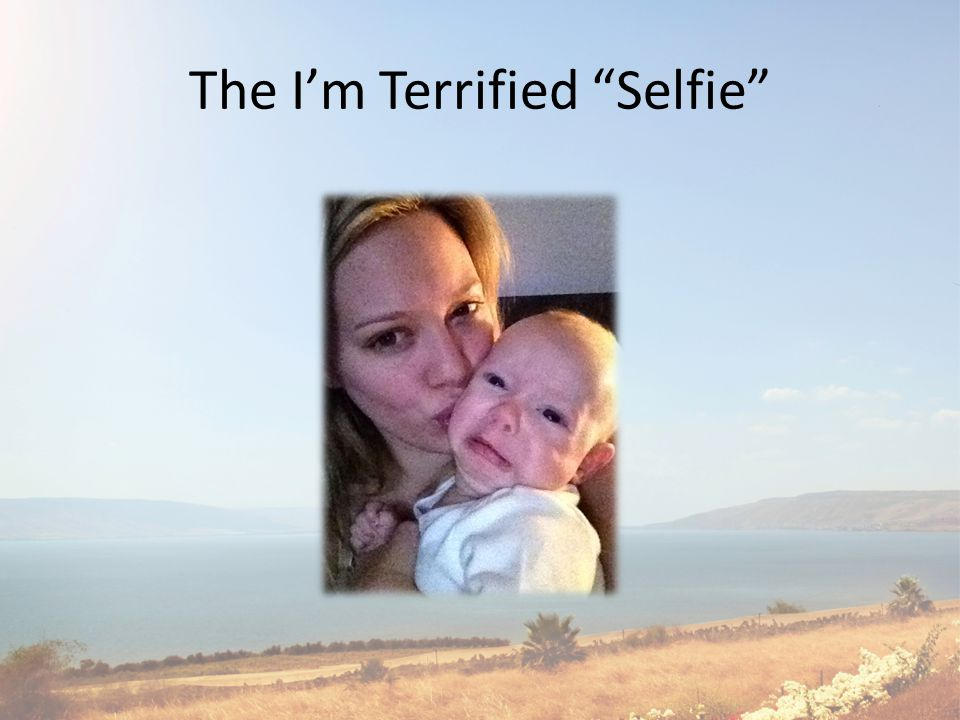 The I'm Terrified Selfie