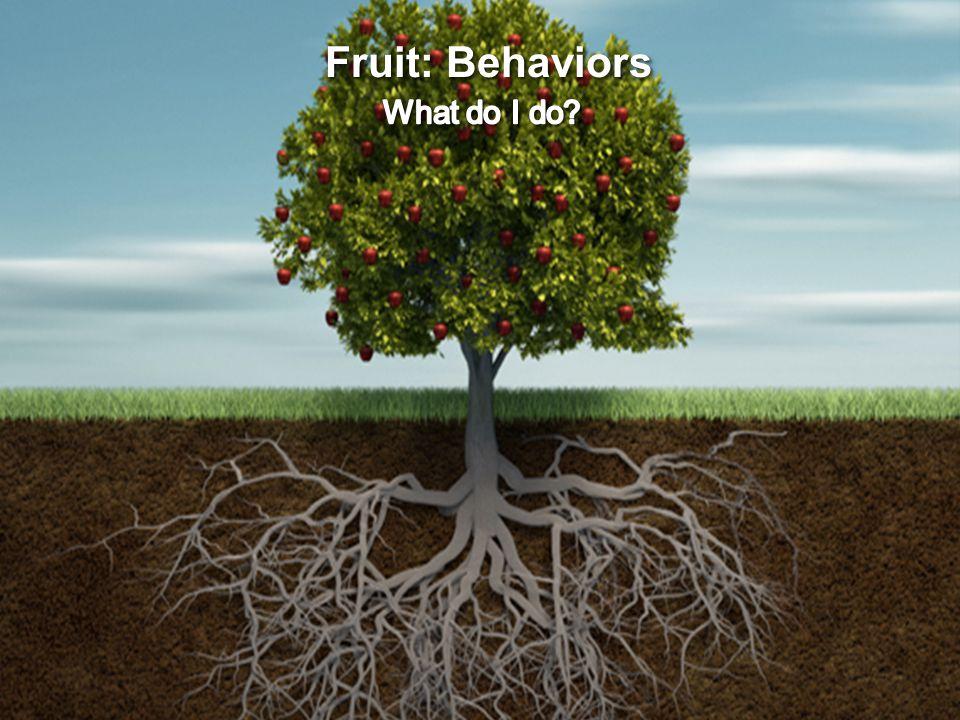 Fruit: Behaviors
