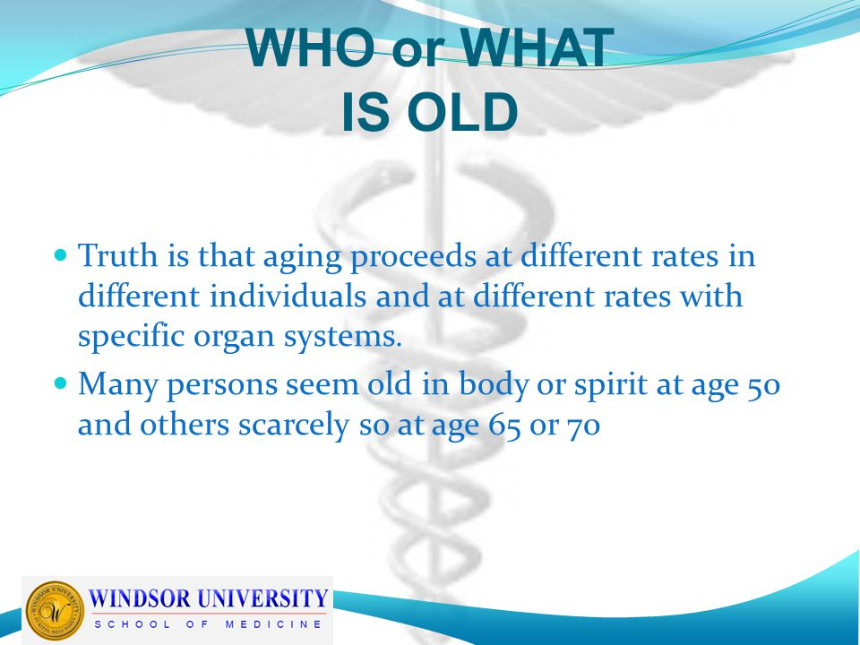 Whence 65+ The common practice of designating people over age 65 as old began in Germany in the 1880s when Otto von Bismarck selected 65 as the starting age for certain social welfare benefits The question is: Should this continue to be the qualifying standard? ............