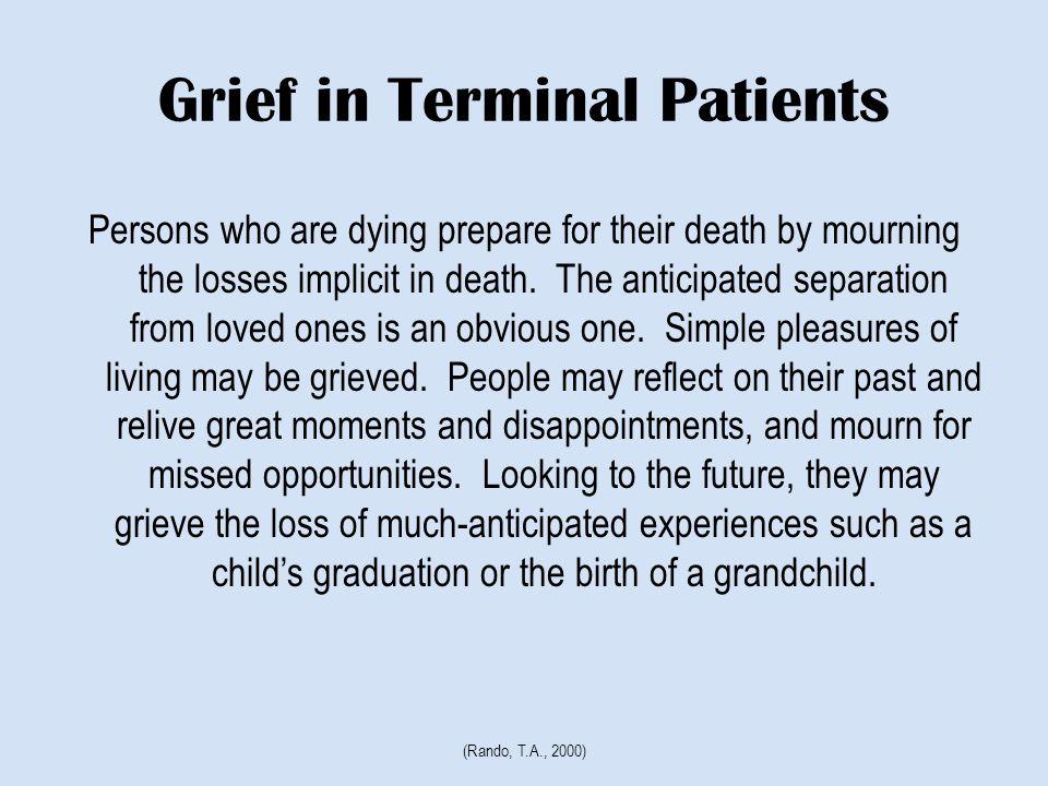 Grief or Depression.