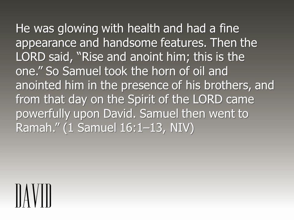 BECAUSE DAVID WAS ORDINARY, GOD COULD BE EXTRAORDINARY THROUGH DAVID