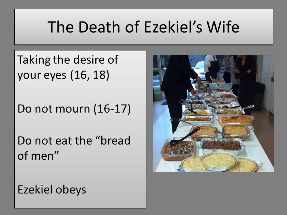 God's Message God obliterate Jerusalem and her residents (v.