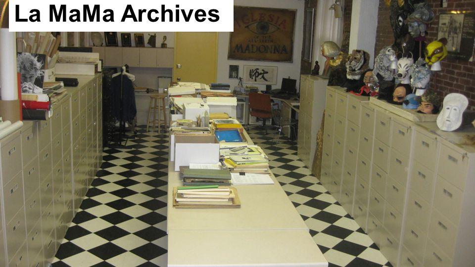 La MaMa Archives