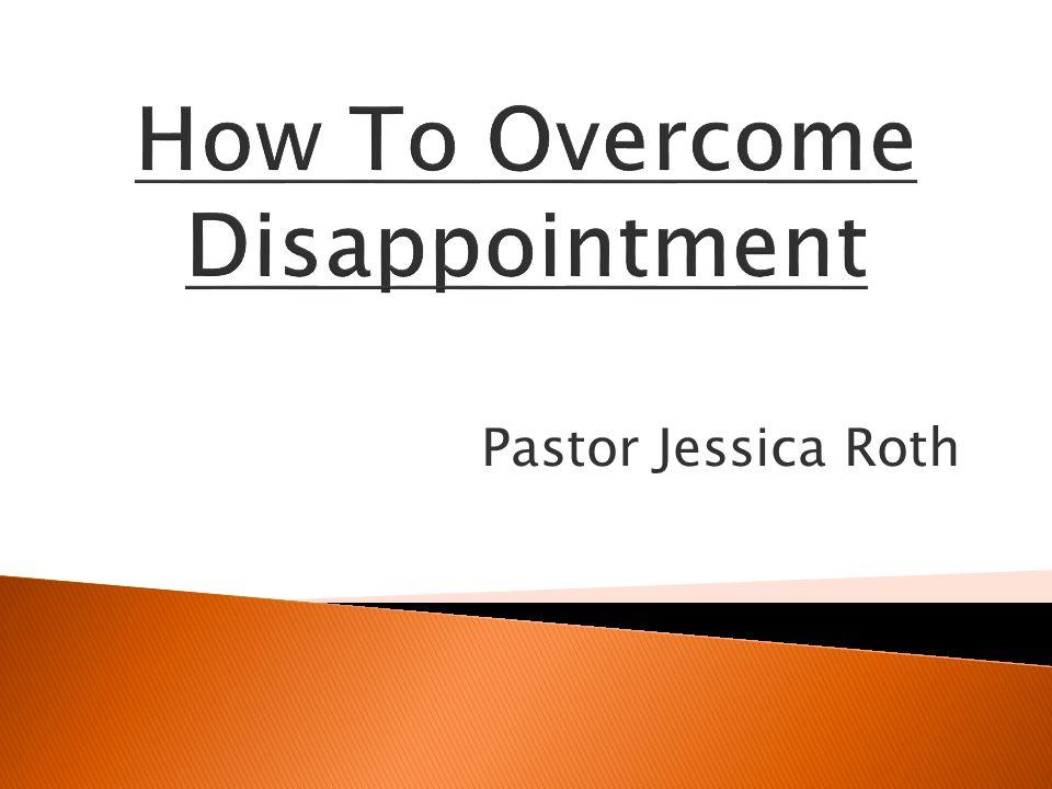 Pastor Jessica Roth