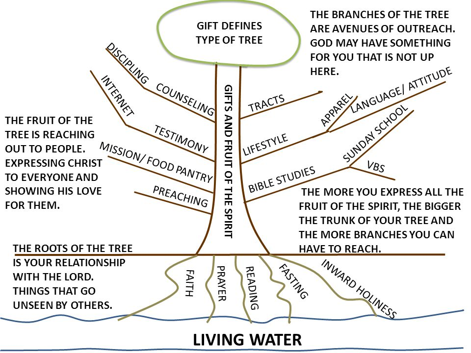 LIVING WATER FAITH READING FASTING PRAYER INWARD HOLINESS THE ROOTS OF THE TREE IS YOUR RELATIONSHIP WITH THE LORD. THINGS THAT GO UNSEEN BY OTHERS. G