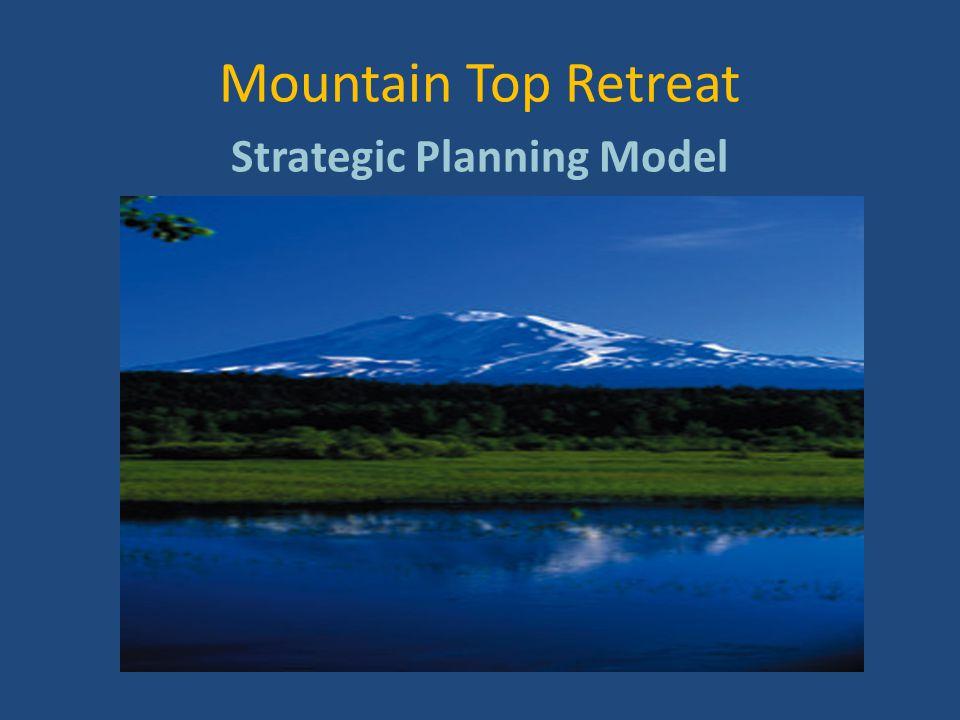 Mountain Top Retreat Strategic Planning Model