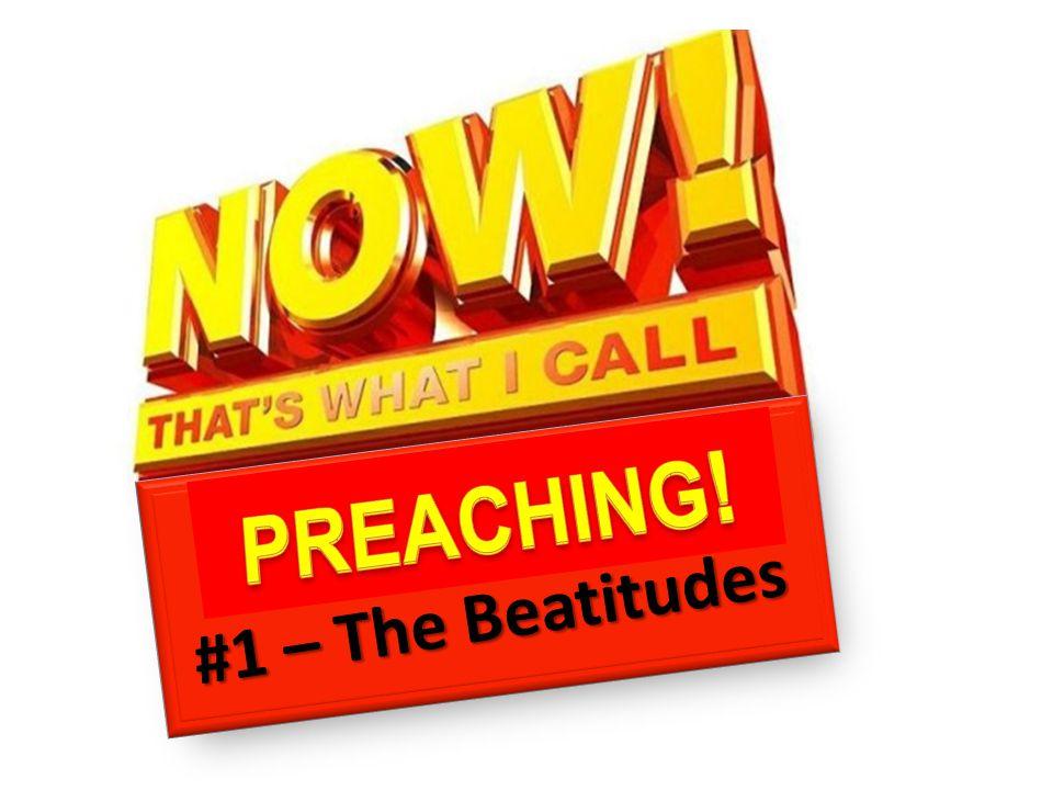 #1 – The Beatitudes