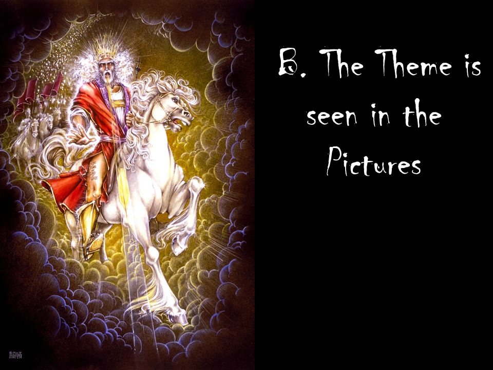 B. The Theme is seen in the Pictures