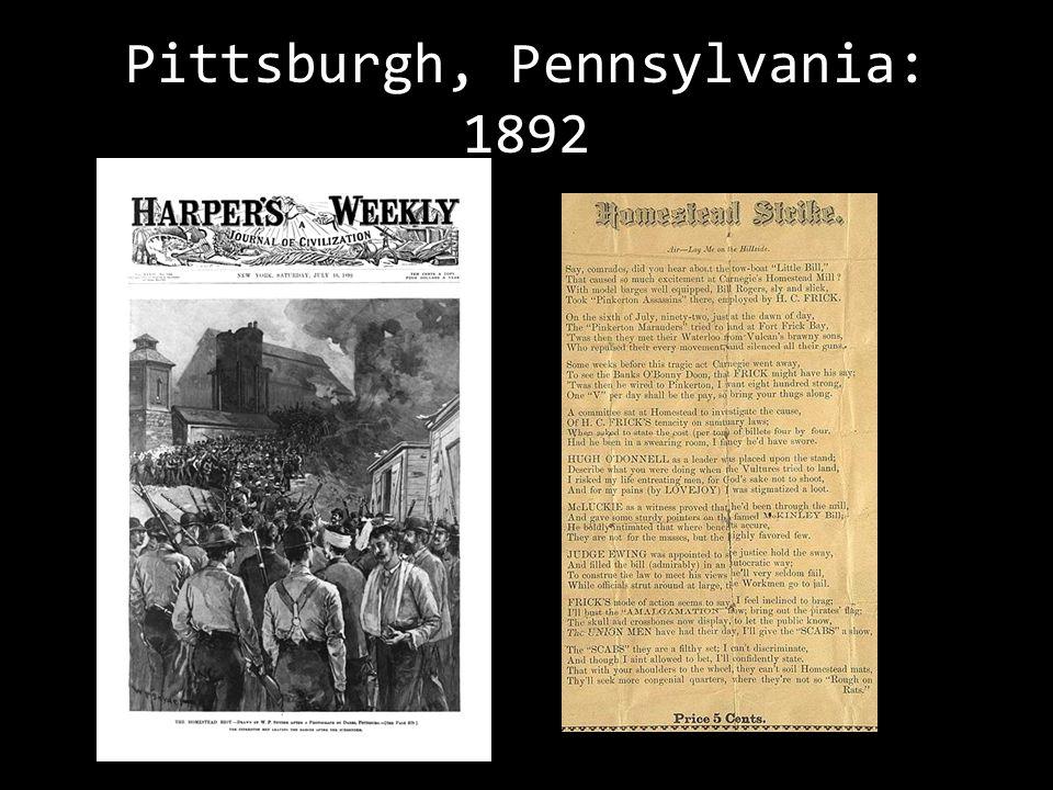 Nationwide Strike: 1894