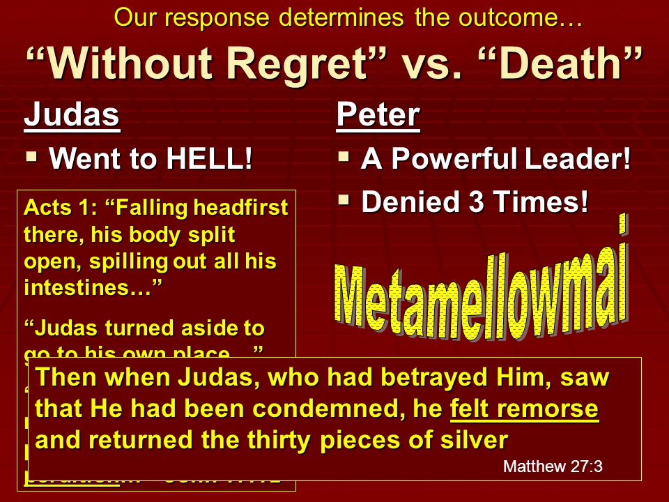 Without Regret vs. Death Judas  Went to HELL.