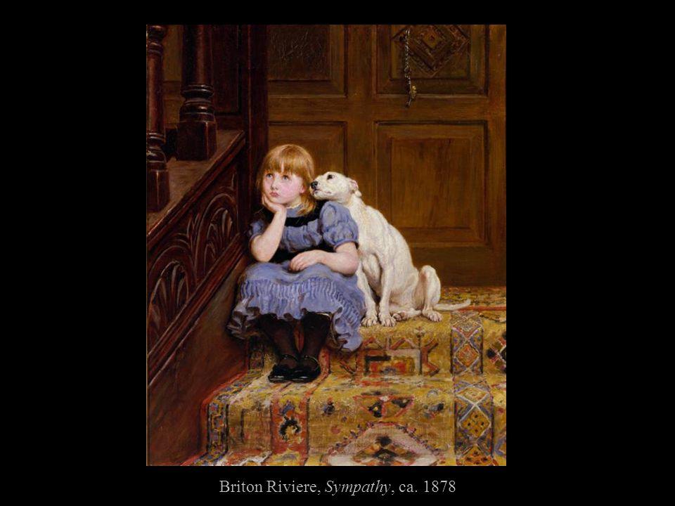 Briton Riviere, Sympathy, ca. 1878