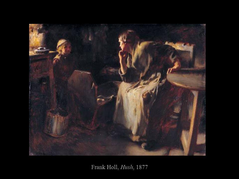 Frank Holl, Hush, 1877