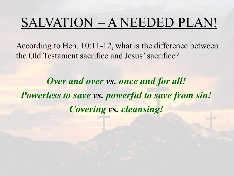 SALVATION – HOW DOES IT HAPPEN? How does Eph. 4:22-24 describe salvation?