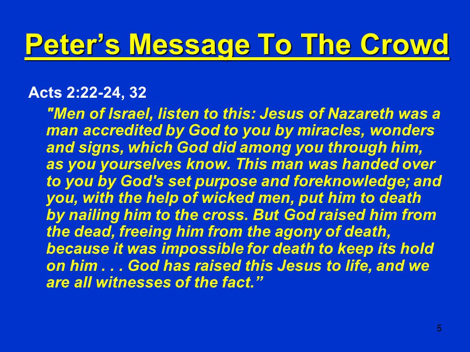 26 The Gospel Defined 1 Corinthians 15:1-5 1 Now, brothers, I want to remind you of the gospel I preached to you, which you received and on which you have taken your stand.