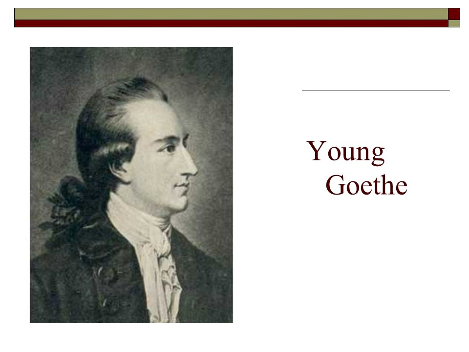Y Young Goethe