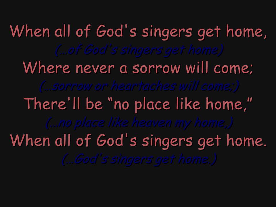 Having over come sin, Hallelujah.