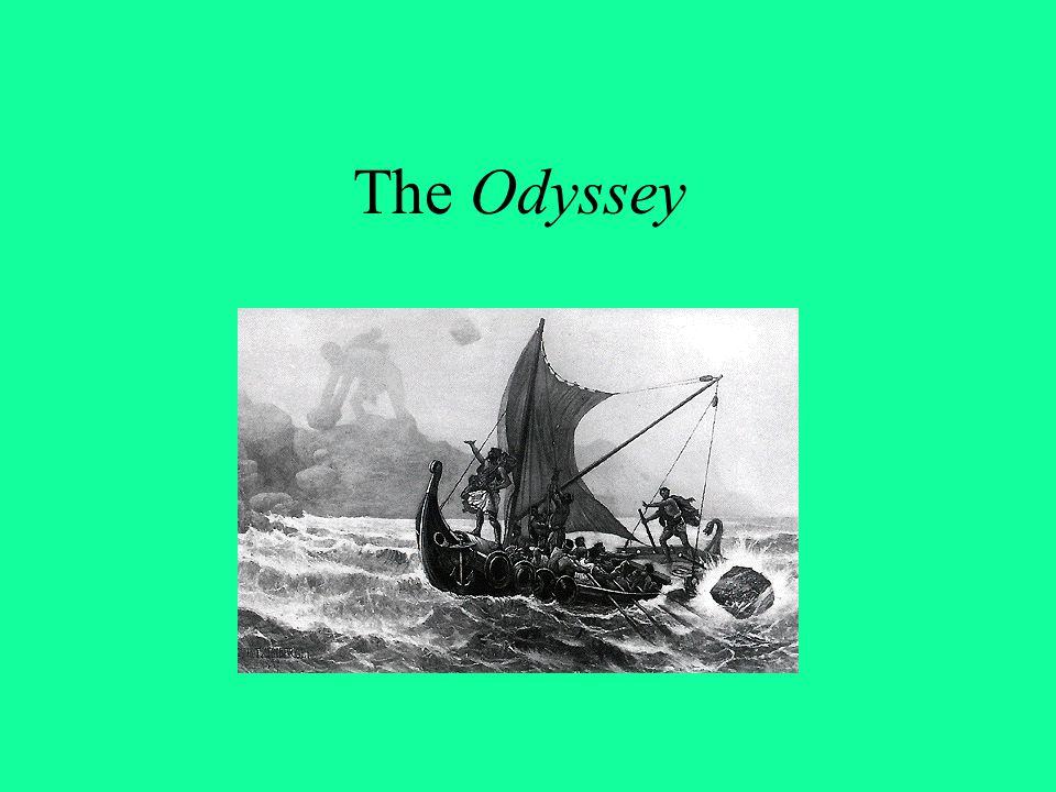A Man Returns from the Dead In mythic terms, the Odyssey is the story of a man who returns from the dead.