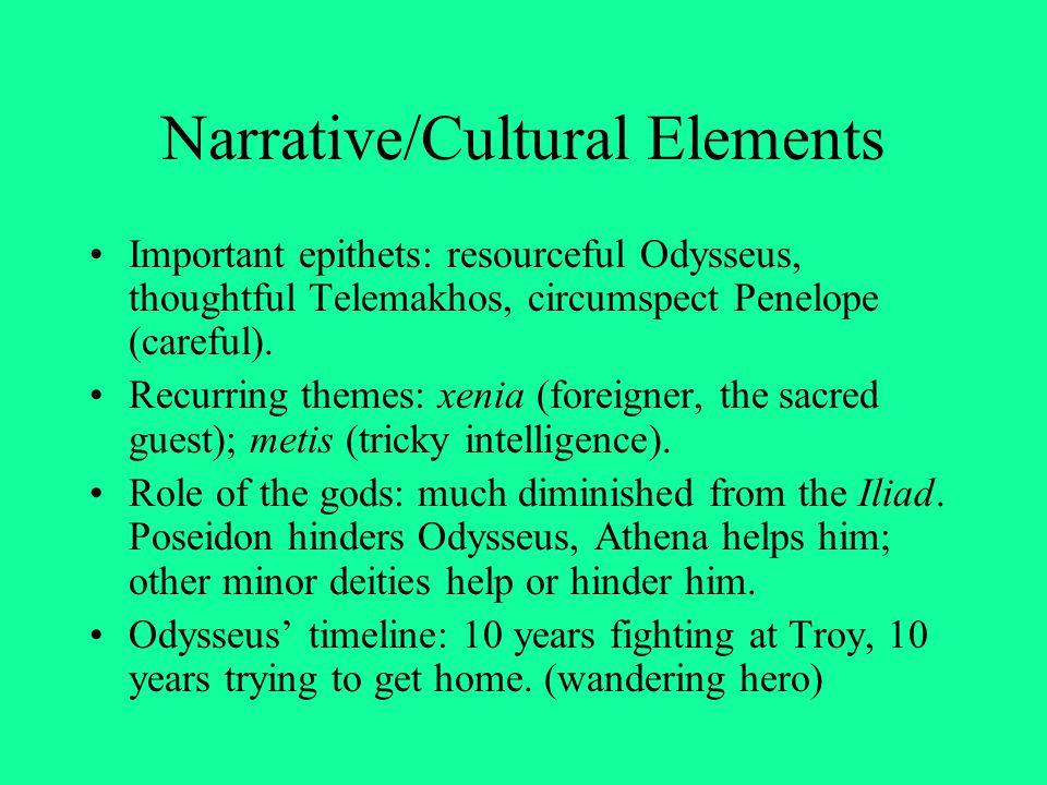 Arete & Alkinoos Arete and Alkinoos are good hosts, honoring and helping Odysseus.