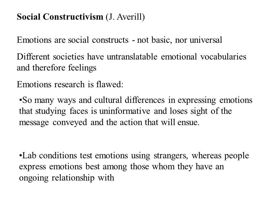 Social Constructivism (J.