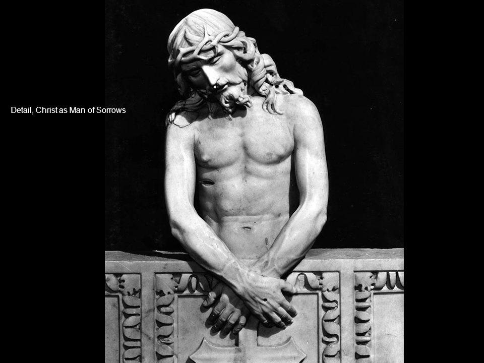 Detail, Christ as Man of Sorrows