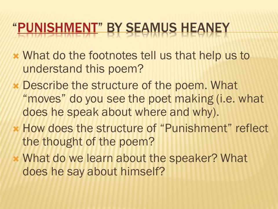  What do the footnotes tell us that help us to understand this poem.
