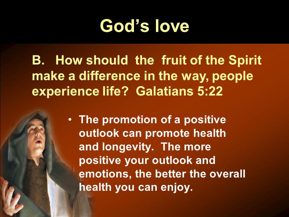 God's love B.