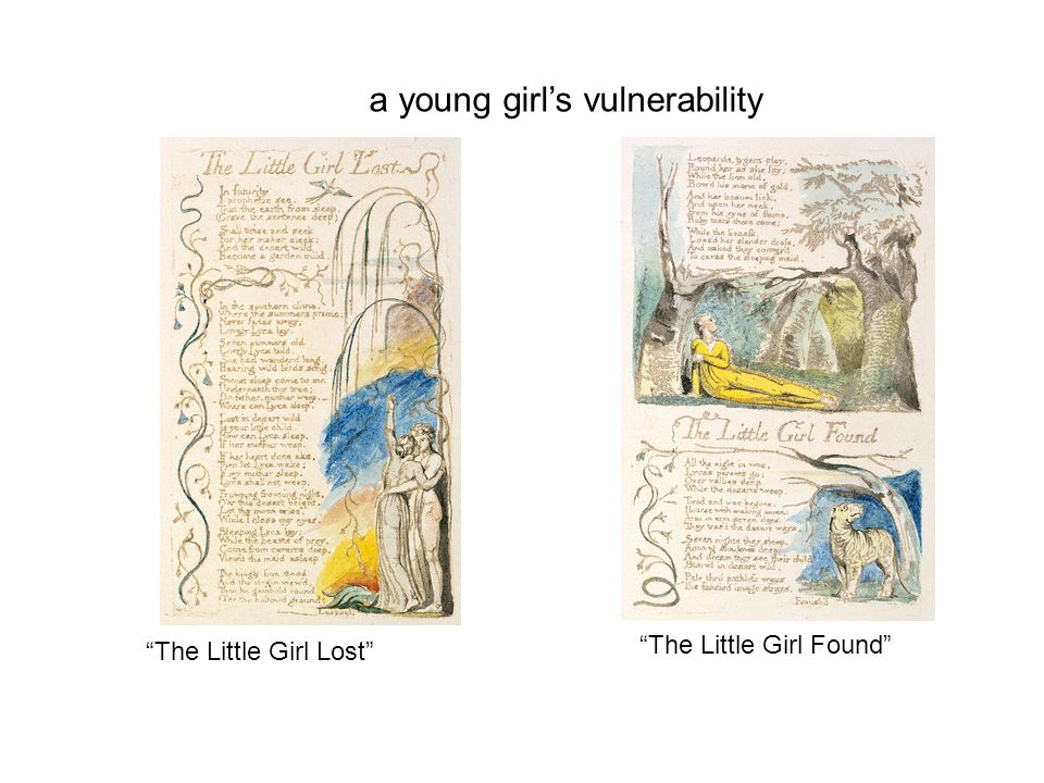 a young girl's vulnerability The Little Girl Lost The Little Girl Found