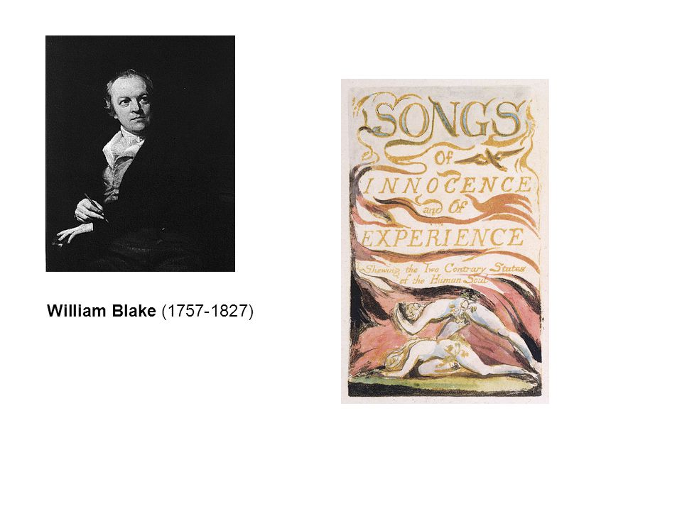 Blake's ironic use of the child's voice in his lyrics is echoed in Carroll's satiric mode.