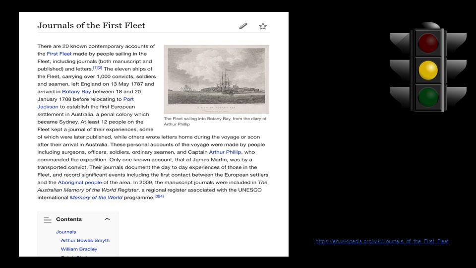https://en.wikipedia.org/wiki/Journals_of_the_First_Fleet