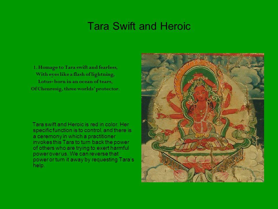 Tara Swift and Heroic 1.