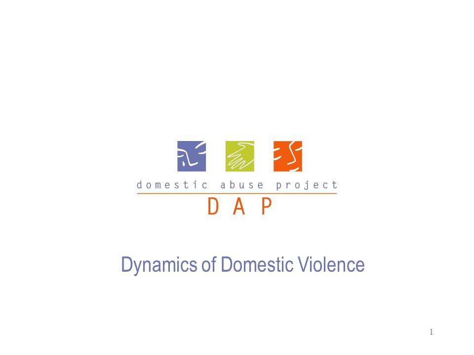 1 Dynamics of Domestic Violence