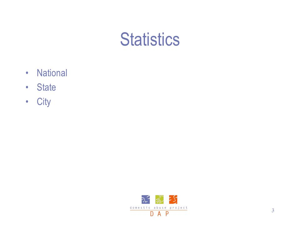 3 Statistics National State City