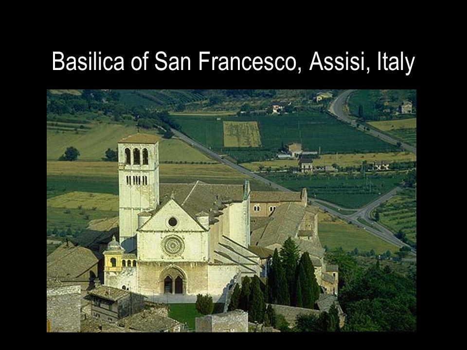 Basilica of San Francesco, Assisi, Italy