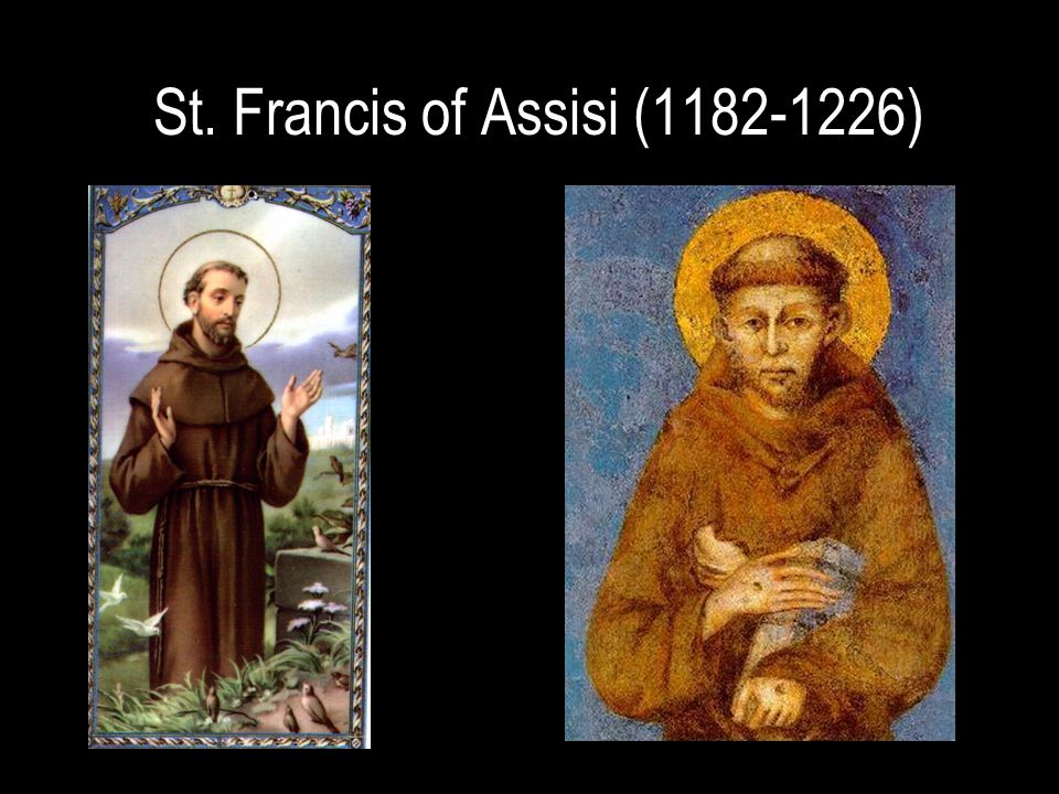 St. Francis of Assisi (1182-1226)