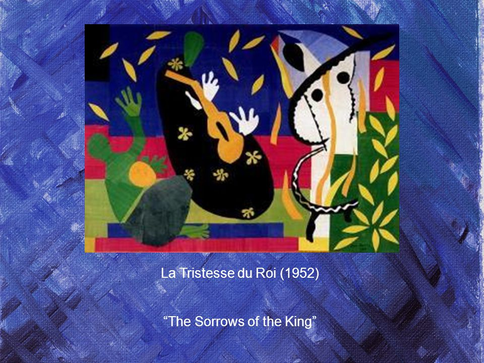 La Tristesse du Roi (1952) The Sorrows of the King