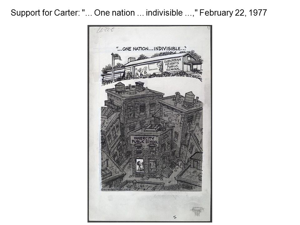 Support for Carter: ... One nation... indivisible..., February 22, 1977