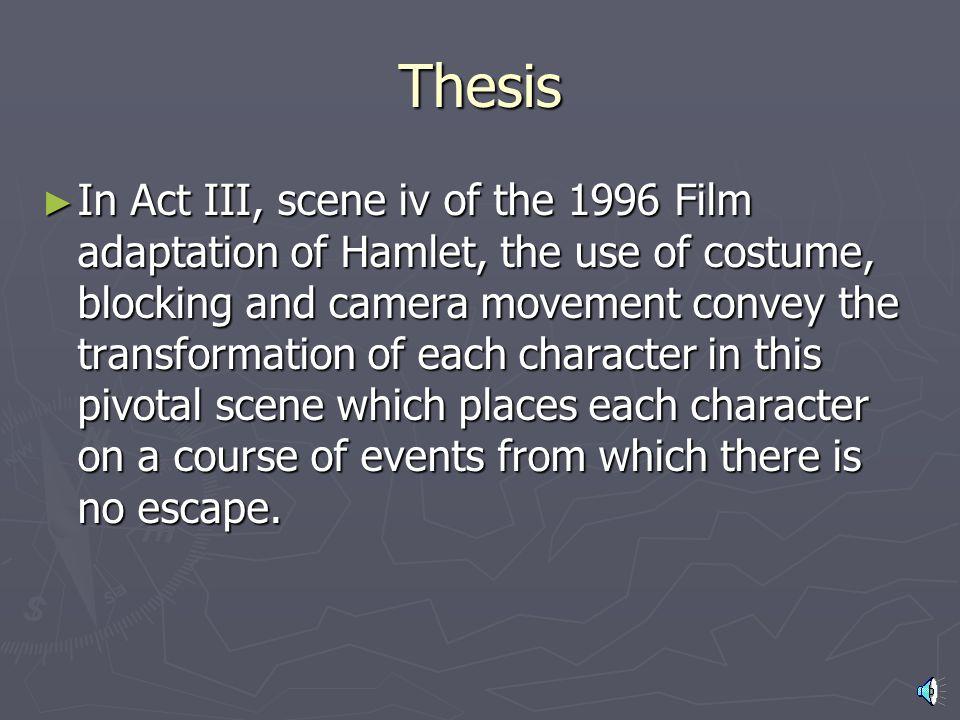 HAMLET: Analysis of Act III, Scene iv ENG 112 Midterm Presentation Jacqueline Kopp