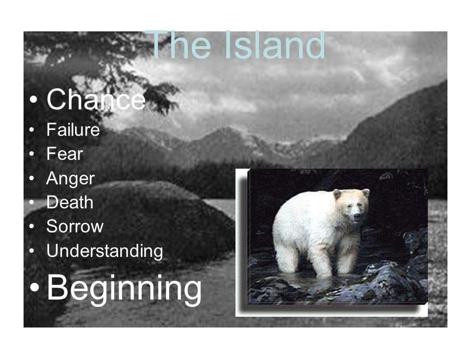 The Island Chance Failure Fear Anger Death Sorrow Understanding Beginning