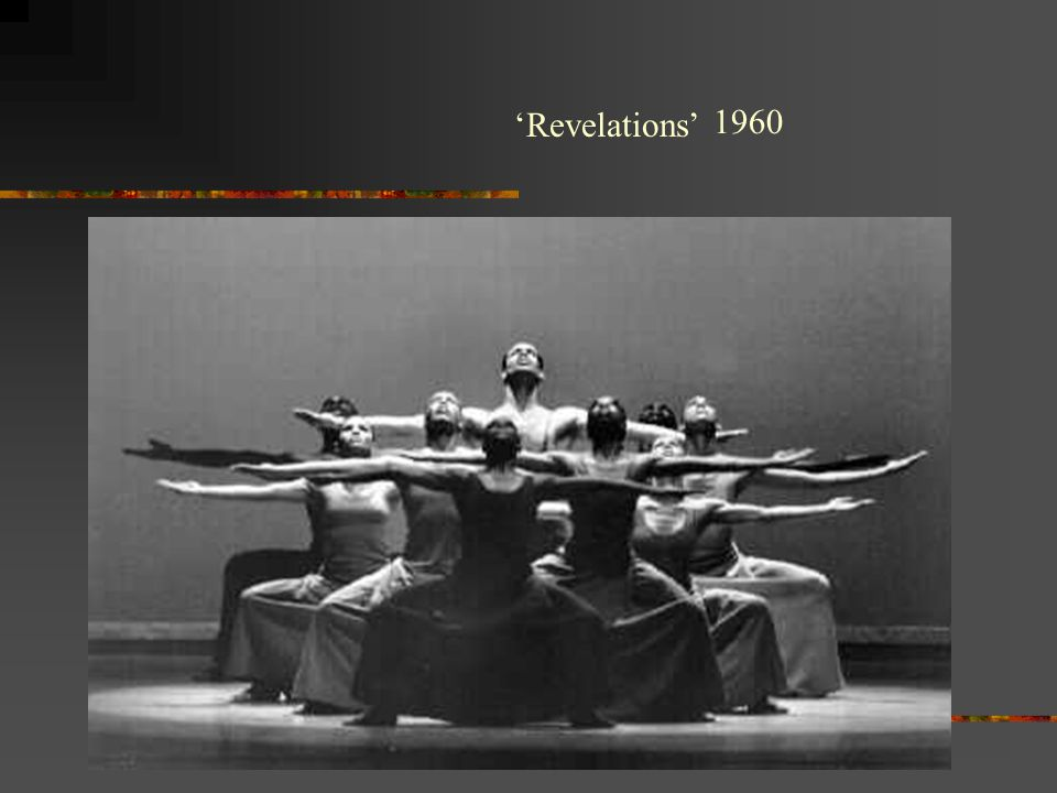 Alvin ailey revelations critique essay