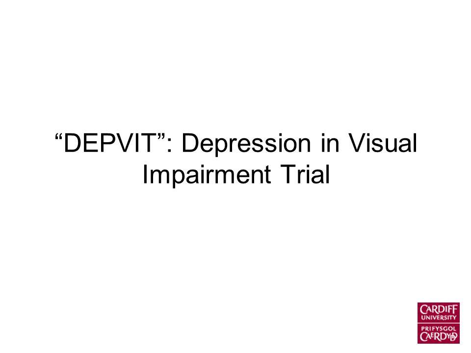 DEPVIT : Depression in Visual Impairment Trial