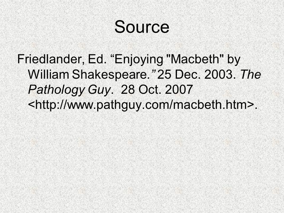 """Source Friedlander, Ed. """"Enjoying"""