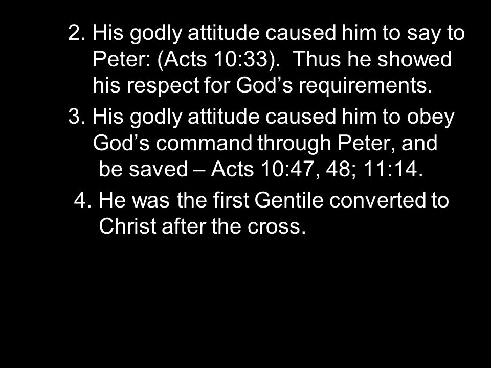III.GODLINESS IS PROFITABLE: A.
