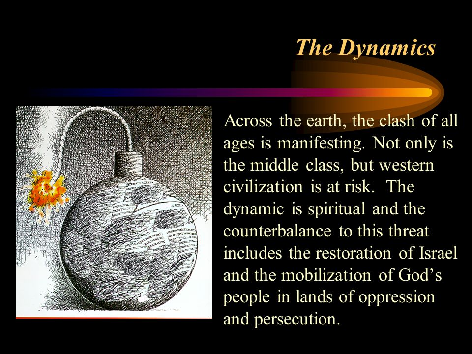 The Dynamics Across the earth, the clash of all ages is manifesting.
