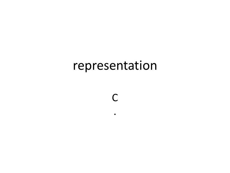representation C.