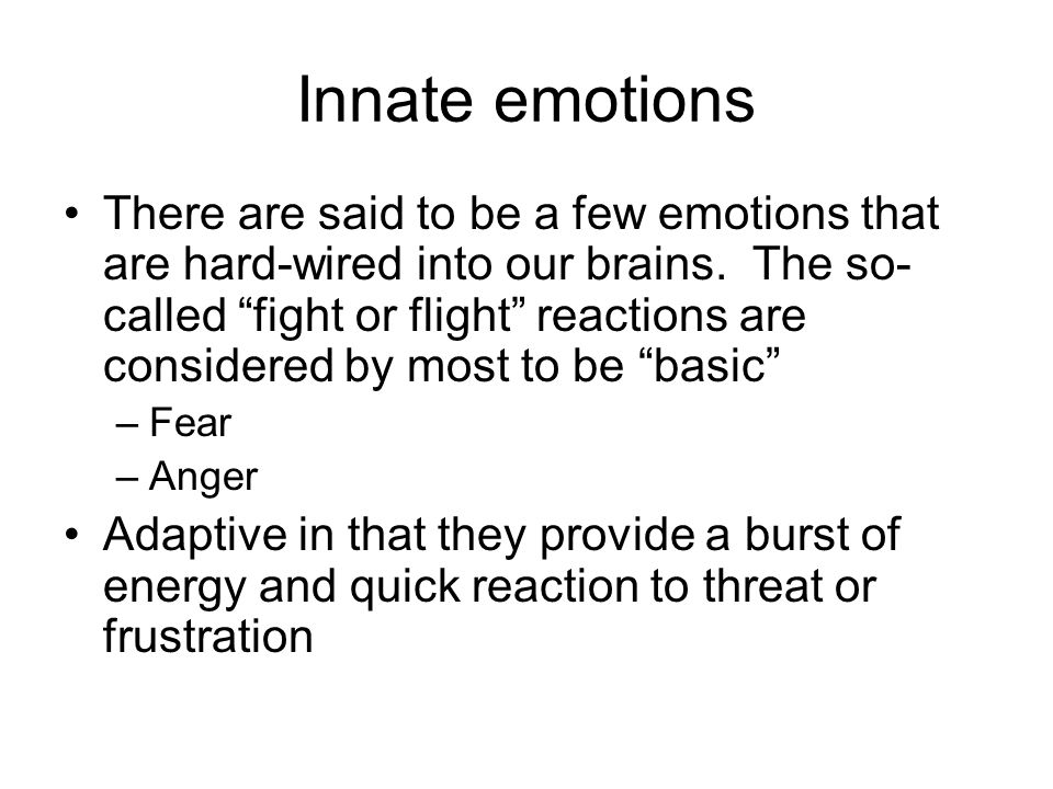 Social emotions Emotions that allow you to interact with others effectively and to maintain social bonds –Love –Friendship –Empathy Learned early through the positive relationships between mom and food, etc.